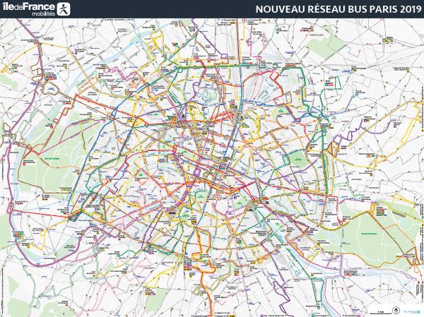 20 Avril 2019 Le Reseau Bus Parisien Change Site Horizon Employeur