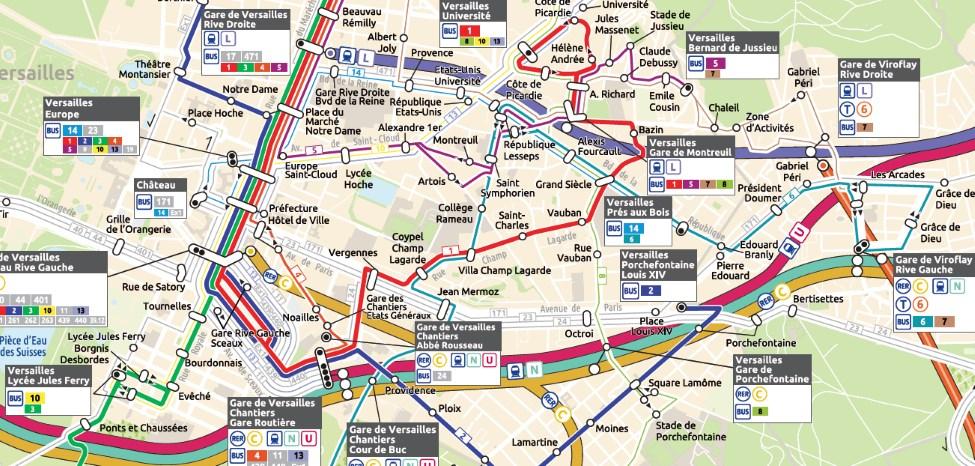 26 août 2019: le réseau bus de Versailles change