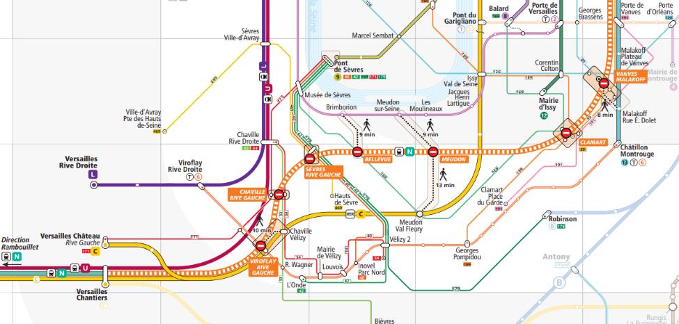 Semaine de Toussaint 2019: travaux RATP et SNCF